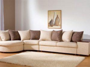 Перетяжка углового дивана на дому в Сальске